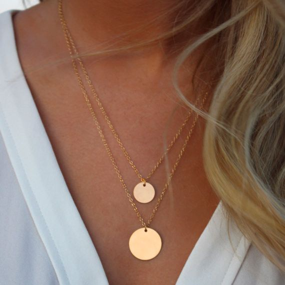 Simple alloy plating necklace ( alloy ) NHXR0473