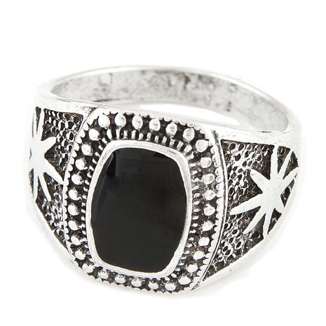 Occident metal concise Men s Rings NHNSC2334's discount tags