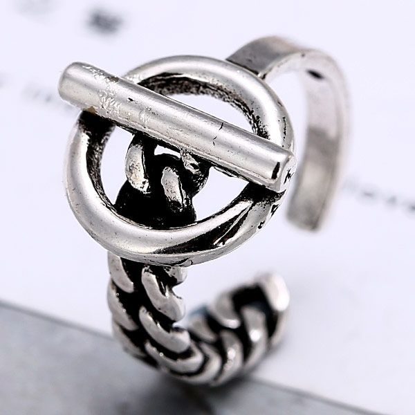 Occident metal imitation Thai alloy opening Ring NHNSC2664