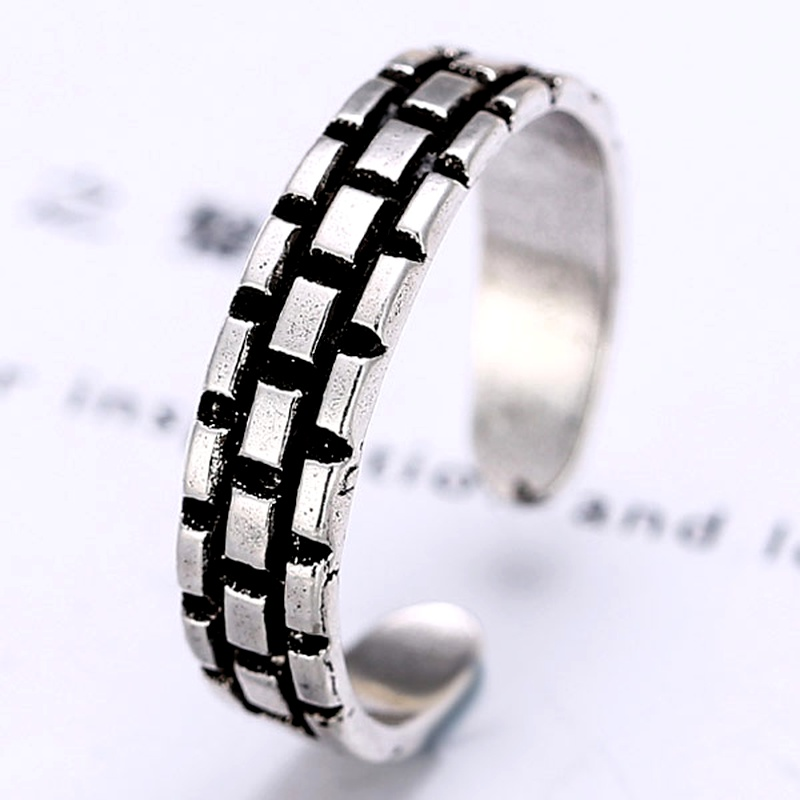 Occident metal imitation Thai alloy opening Ring NHNSC2666
