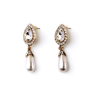 Occident alloy Drill set Earrings  NHQD0924's discount tags