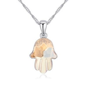 Austrian imitated crystal necklace  long for the distance Alloy Shadow NHKSE23661