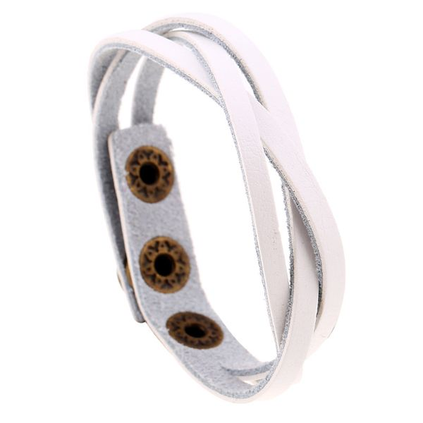 Korean Cortical Geometric Bracelet ( white ) NHPK0397-white