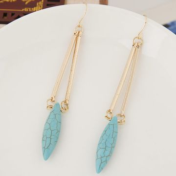 Alloy Turquoise earring NHNSC3679