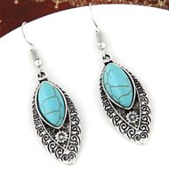 Alloy Turquoise earring NHNSC3680