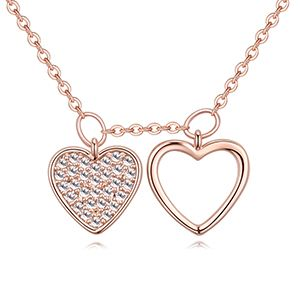 AAA grade mosaic necklace  true rose alloy NHKSE26655