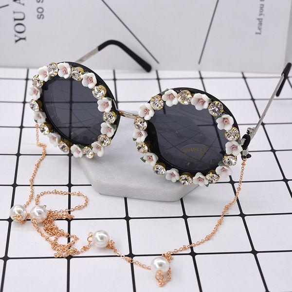 Fashion Alloy  glasses Geometric (white)  NHNT0150