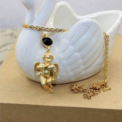 Other Alloy plating necklace Cartoon (Angel section)  NHNT0186's discount tags
