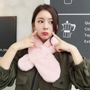 Korea Cloth  scarf  black  NHCM1131black
