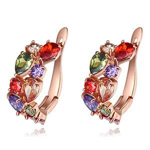 AAA grade zircon earrings - Mona Lisa NHKSE26325