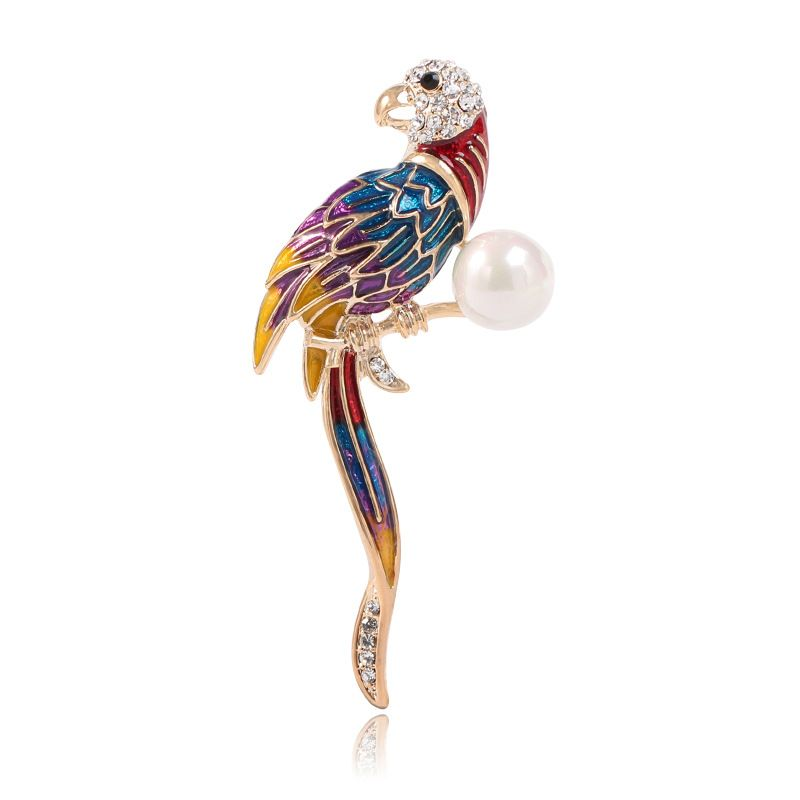 Fashion Alloy plating brooch Animal (KC alloy - color)  NHKQ1359-KC alloy - color