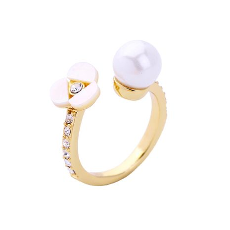 Korea Alloy Alloy-plated Rings Flowers (Alloy -1)  NHQD4189-Alloy -1's discount tags
