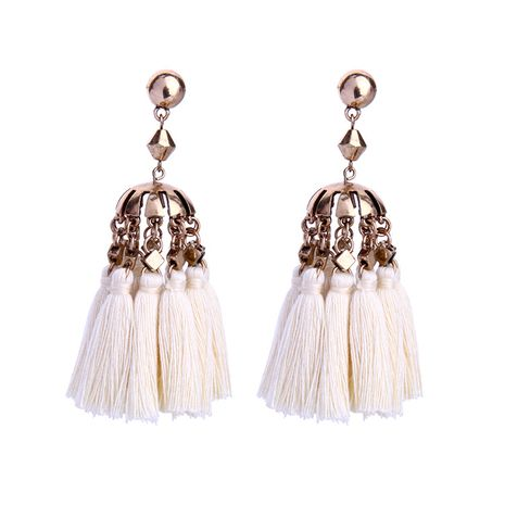 Fashion Alloy plating Earrings Tassel (image)  NHQD4233-image's discount tags
