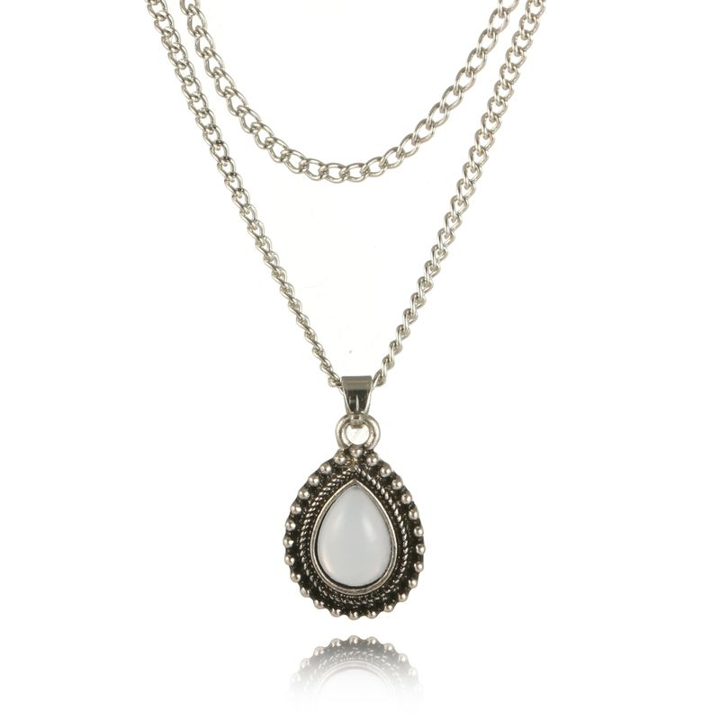 Fashion Alloy other necklace Geometric (Old alloy)  NHGY0752-Old alloy