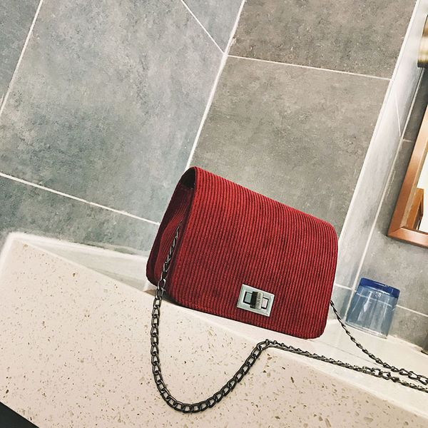 Cute Canvas  Shoulder Bags  (red)  NHXC0029-red