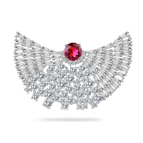 Fashion Zircon  brooch  (White -17C10)  NHTM0040-White -17C10's discount tags
