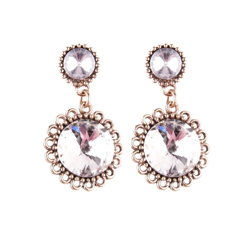 Fashion Acrylic  earring Geometric white  NHJQ9751white