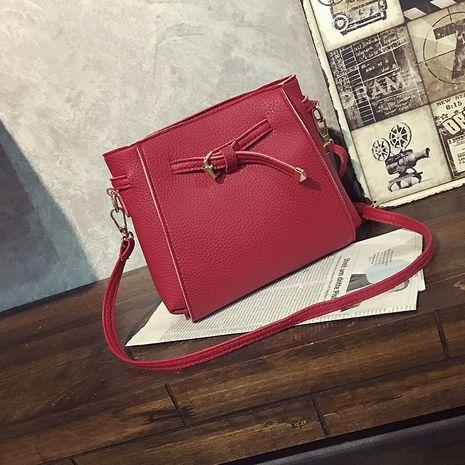 Sacs à bandoulière en PU de mode (rouge) NHXC0530-rouge's discount tags