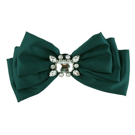 Fashion Alloy Rhinestone brooch Bows (green)  NHJQ9797-green's discount tags