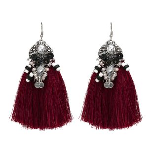 Fashion Plastic  earring Geometric (red)  NHJJ3895-red's discount tags