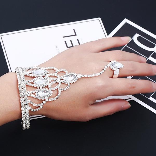Fashion Alloy plating Rings Geometric (Alloy)  NHKQ1437-Alloy