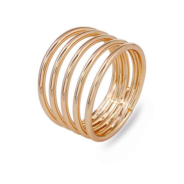 Fashion Alloy plating Rings Geometric (KC alloy -7)  NHKQ1447-KC alloy -7