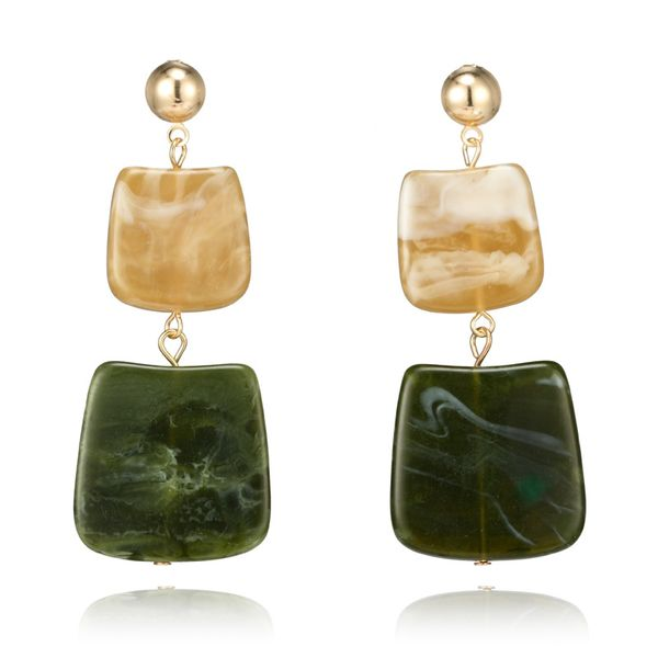 Simple Alloy  Earrings  (The main color)  NHGY0928-The main color