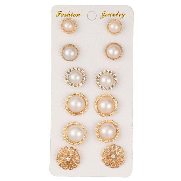 Fashion Alloy plating earring Geometric (platinum)  NHGY0932-platinum