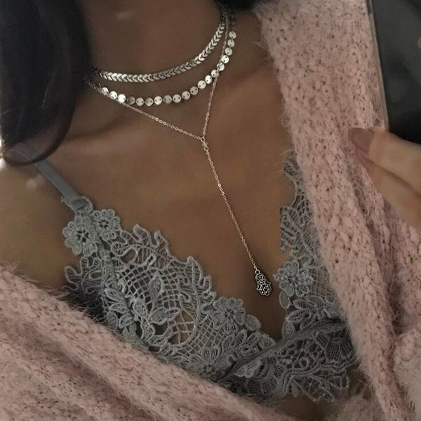 Fashion Alloy  necklace  (Alloy)  NHGY0959-Alloy
