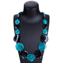 Fashion Other  necklace Geometric Red and black  NHJE0932Red and black