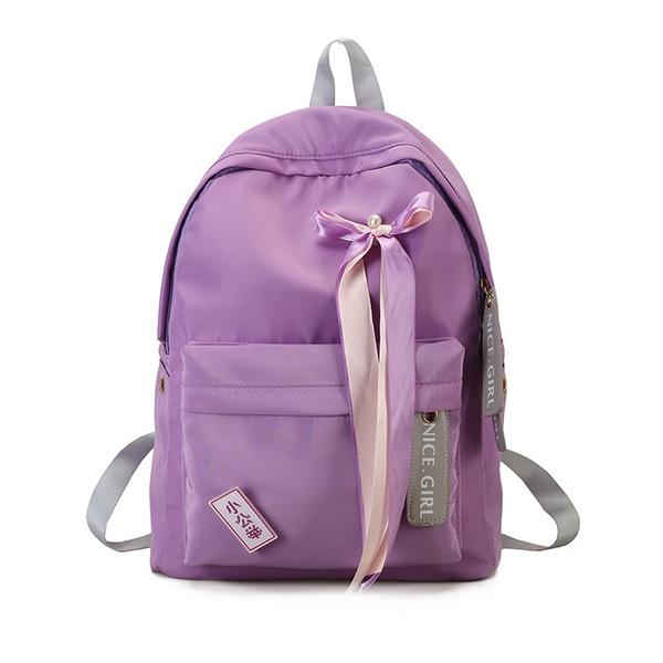Cute Other  backpack  (purple)  NHPB1645-purple