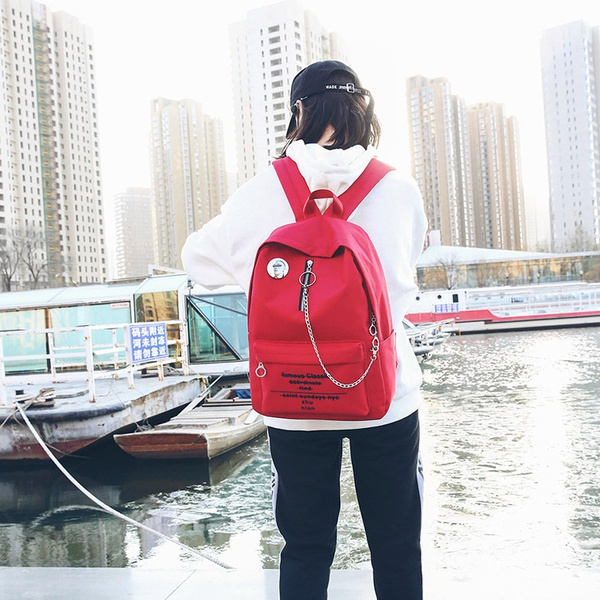 Cute Other  backpack  (red)  NHPB1647-red