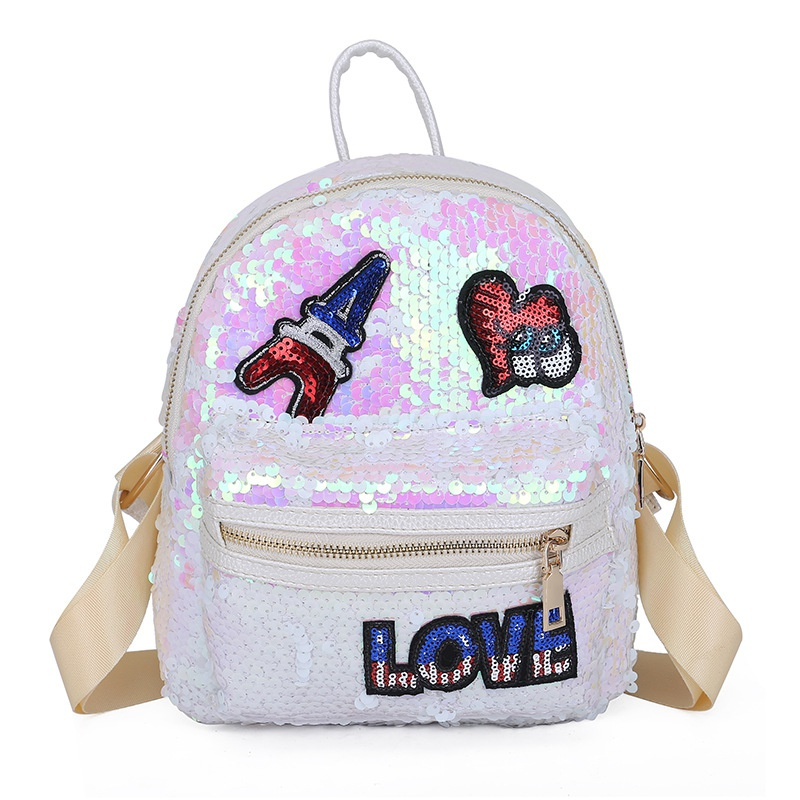 Cute Other  backpack  (white)  NHPB1670-white