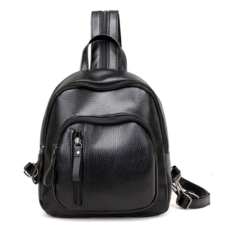 Cute PU  backpack  (black)  NHPB1720-black