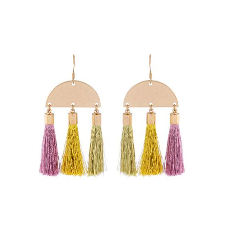 Fashion Alloy plating earring Geometric (Photo Color)  NHQD4266-Photo Color's discount tags