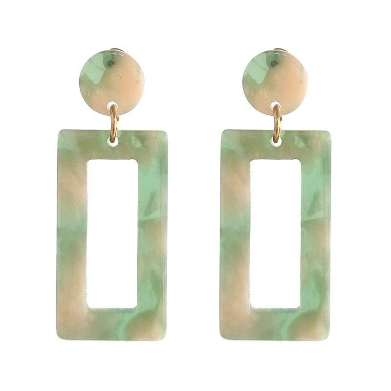 Other Other  earring Geometric (green)  NHJJ3620-green