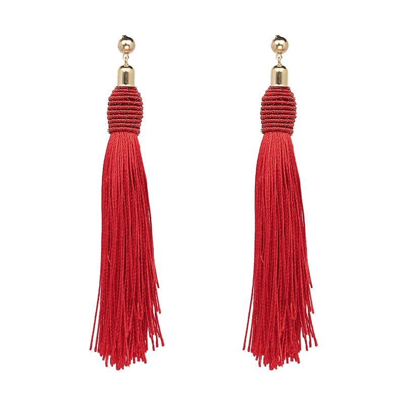 Fashion Alloy other earring Geometric (red)  NHJJ3656-red