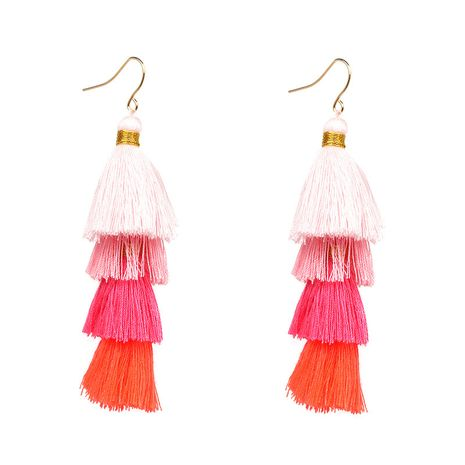 Other Alloy other earring Geometric (Pink)  NHJJ3679-Pink's discount tags