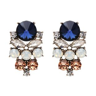 Other Imitated crystal&CZ  Earrings Geometric (Photo Color)  NHJJ3756-Photo Color's discount tags