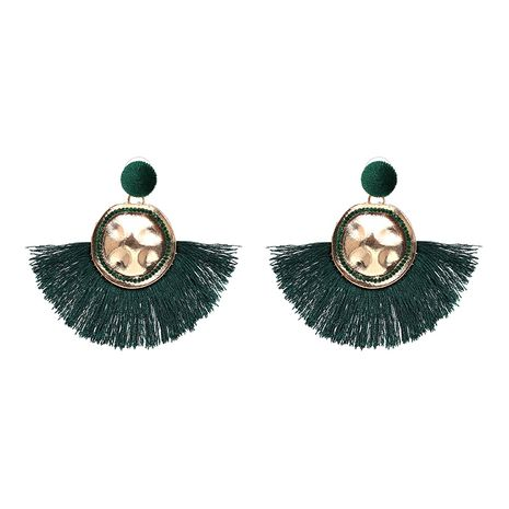 Other Alloy  Earrings Geometric (green)  NHJJ3810-green's discount tags