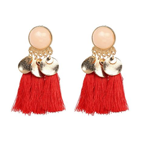 Other Alloy  earring Geometric (red)  NHJJ3823-red's discount tags