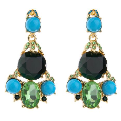 Occident and the United States alloy  Earrings NHQD3502's discount tags