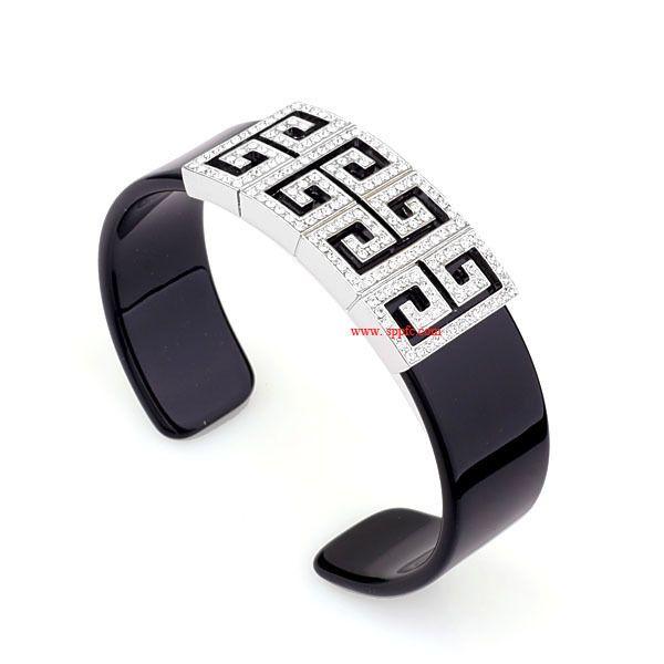 Korean version of Korean / Korean style alloy Rhinestone bracelet (Alloy)  NHLJ2577
