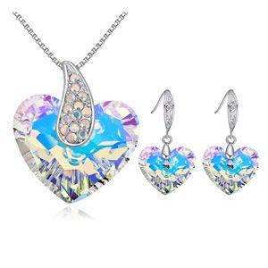 Austrian Imitated crystal Set  Angel Love White NHKSE25315