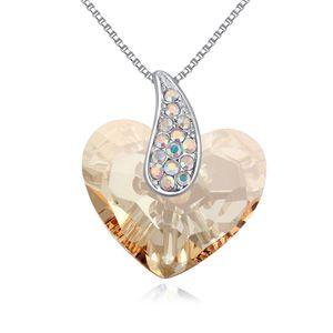 Austrian Imitated crystal Necklace  Angel s Love Alloy Phantom NHKSE25312