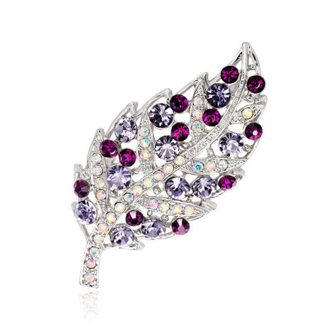 Korean version alloy Rhinestone brooch (AC142-B)  NHDR1177's discount tags