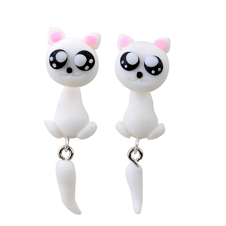 Cartoon Soft pottery manual earring (Main color)  NHGY0028's discount tags