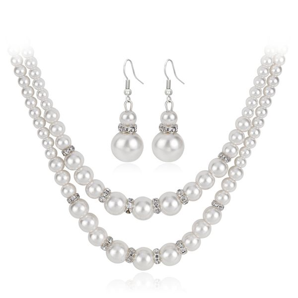 Occident and the United States alloy plating Necklace set (CA245-A)  NHDR1461