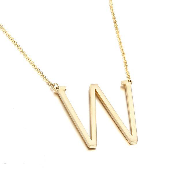 Simple Titanium steel  necklace (Alloy Z)  NHIM0364