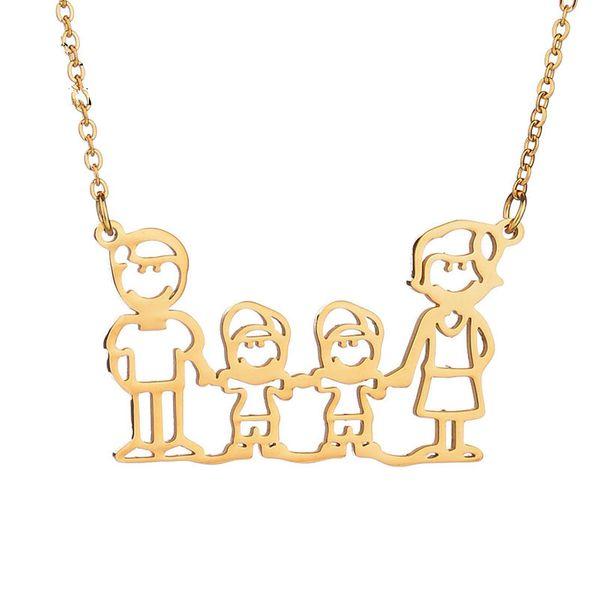 Simple Titanium steel  necklace (Alloy)  NHIM0465